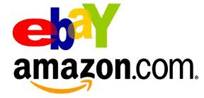 pinterest buttons on ebay and amazon