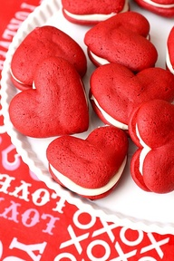 Valentines day pies