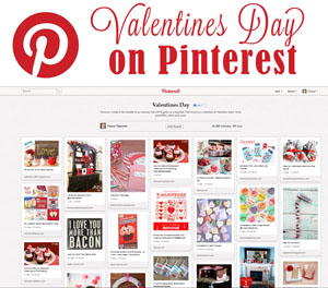 valentines day pins and boards